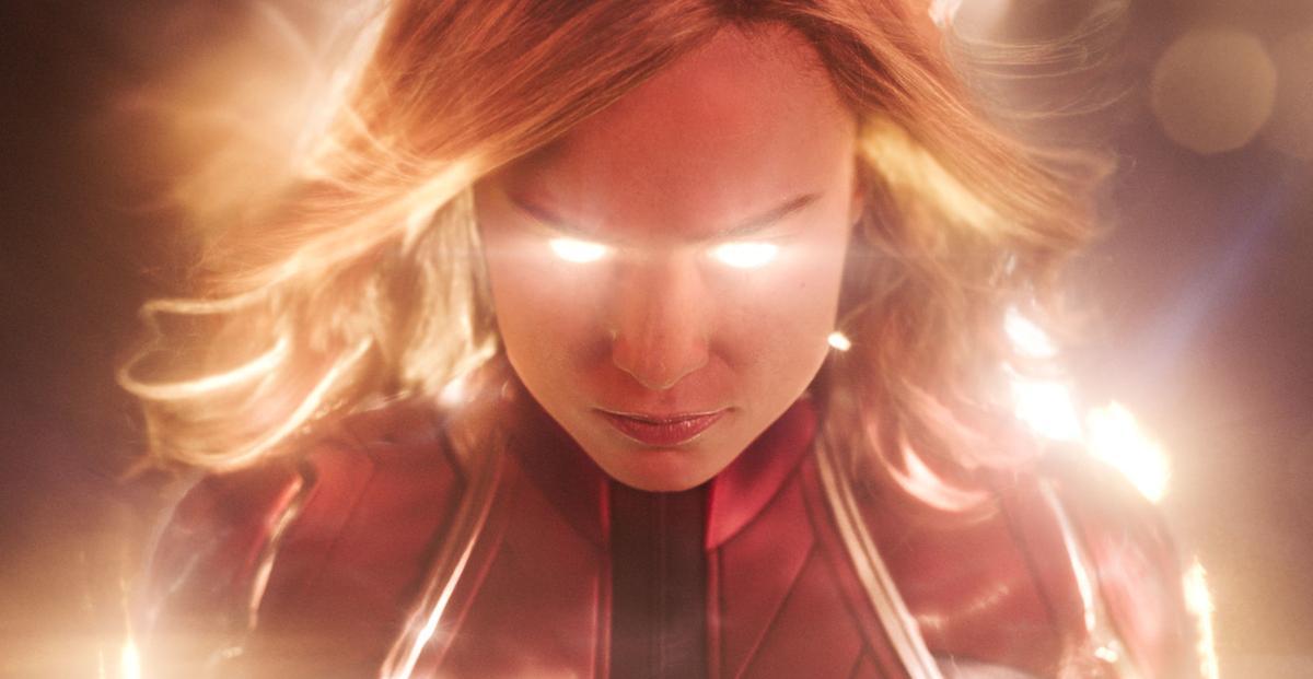 Captain Marvel scene