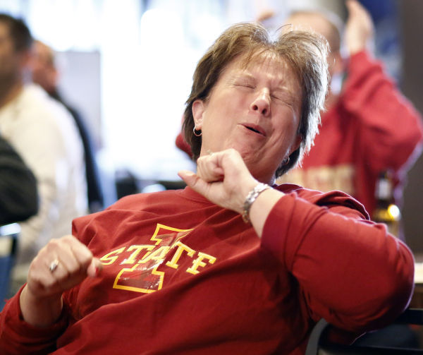 Iowa State basketball fans at Townhouse 5 (cover)