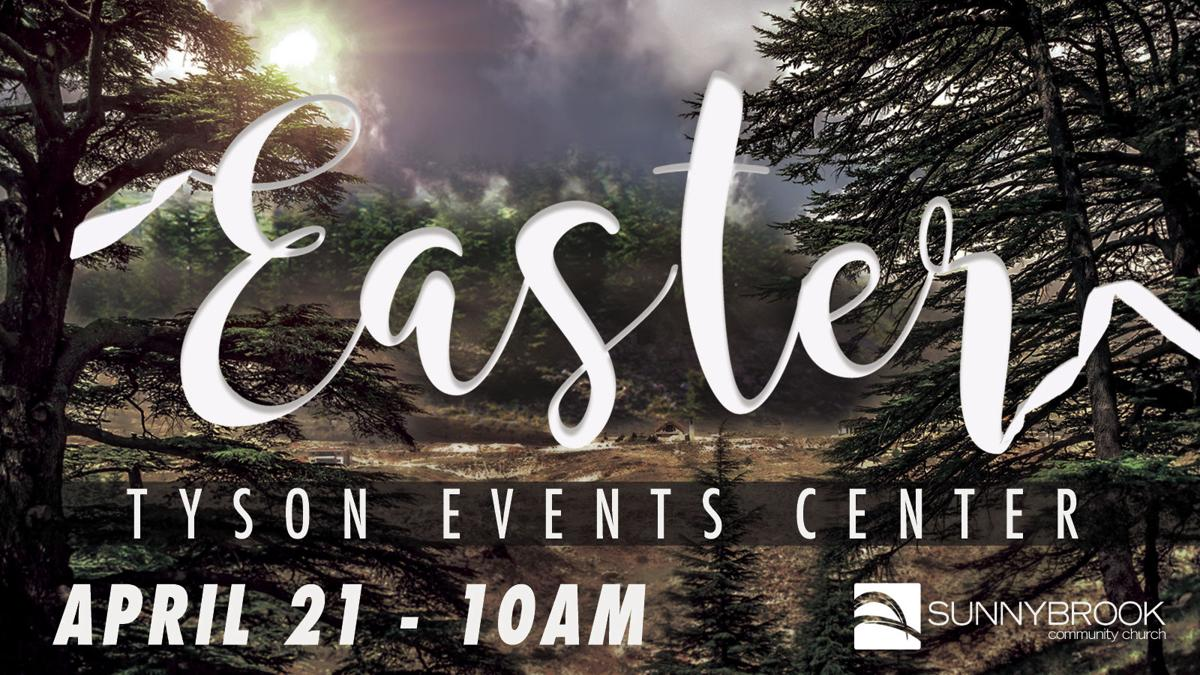 Easter at the Tyson Events Center