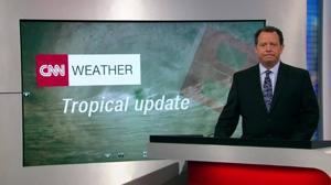 Hurricane Ophelia heads towards Europe