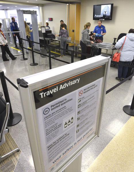 TSA carryon screening