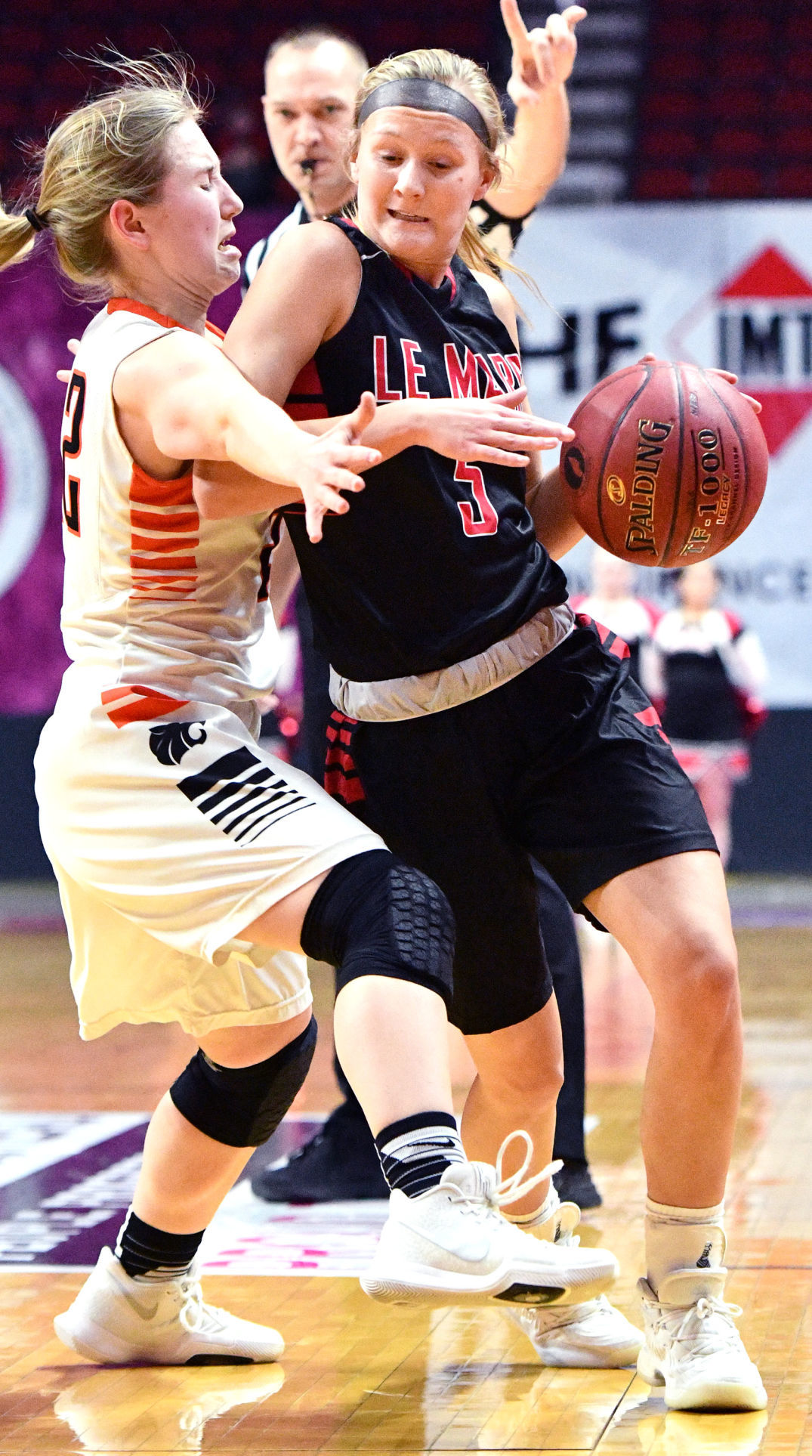 Le Mars vs Grinnell state basketball