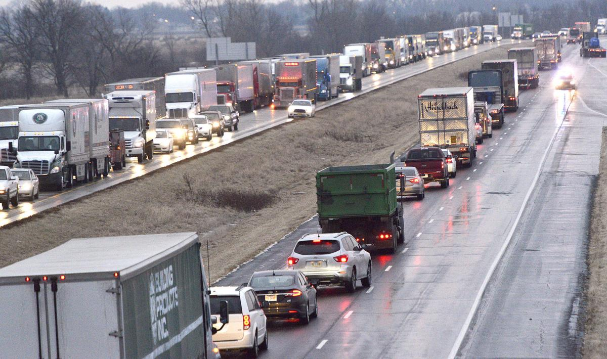 Icy Interstate 29 accidents