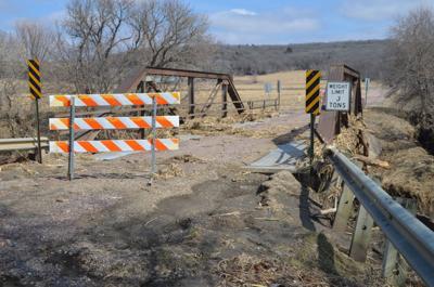 Dakota County flood-damaged bridge