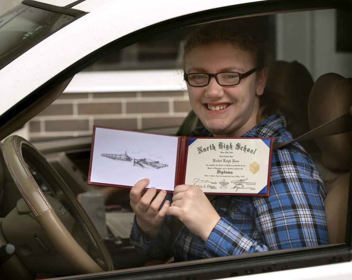 COVID-19 drive through diplomas 2