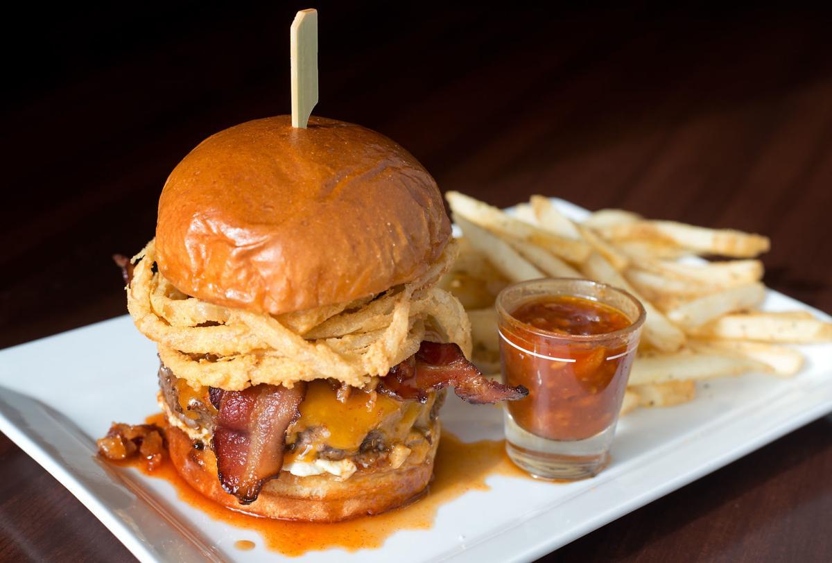 Spiked Bulleit Bourbon Burger