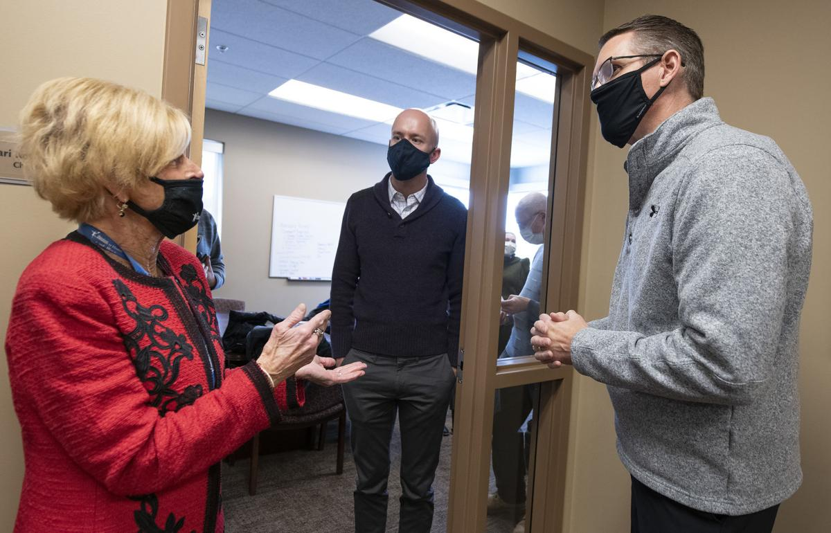 Randy Feenstra tours Siouxland Community Health Center 4