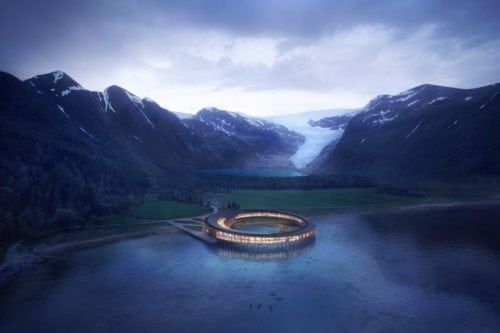 This Hotel In Norway Is Shaped Like A Ring And Offers Stunning 360-Degree Views