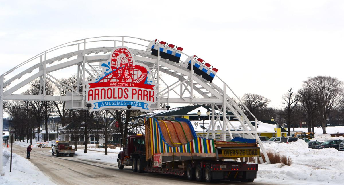 Arnolds Park slide