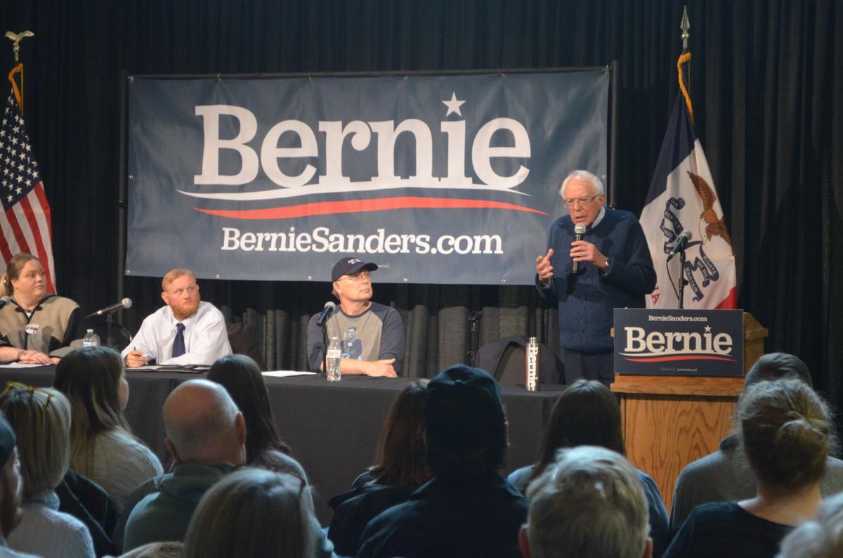 Bernie Sanders in Orange City