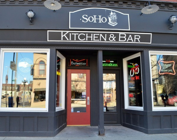 Soho Restaurant Sioux City Menu
