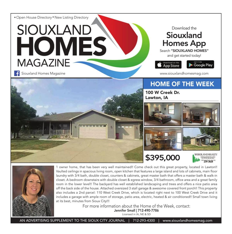 Siouxland Homes - September 25, 2021