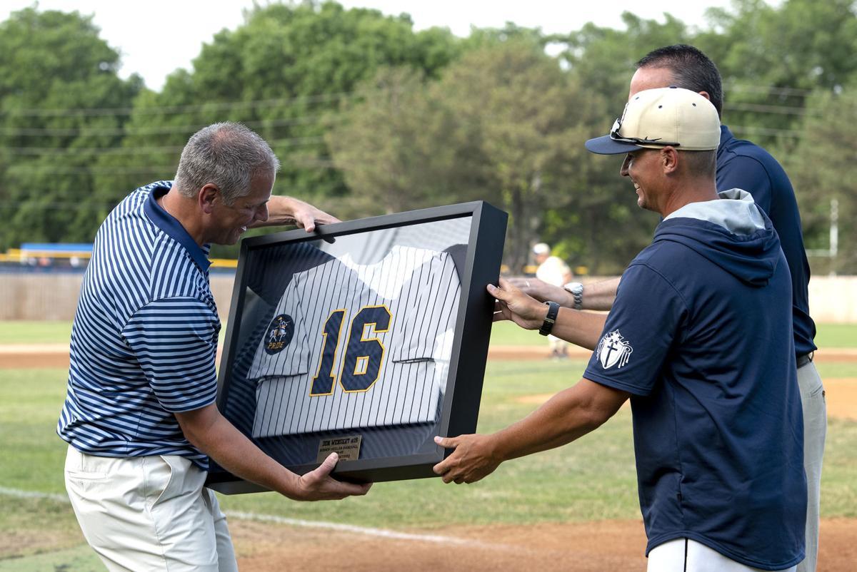 Bishop Heelan retires Don Wengert's jersey