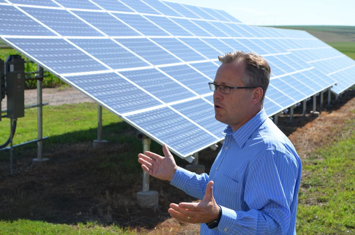 Merrill Solar panels