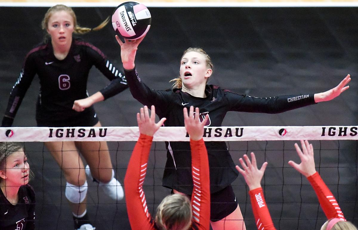 Iowa State Volleyball Western Christian vs. Treynor