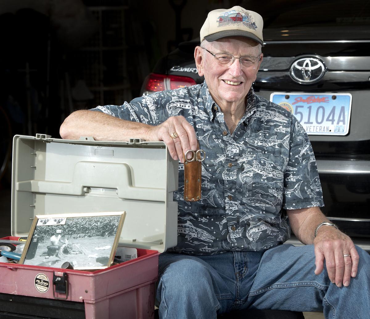 Korean War veteran Bob Stouffer