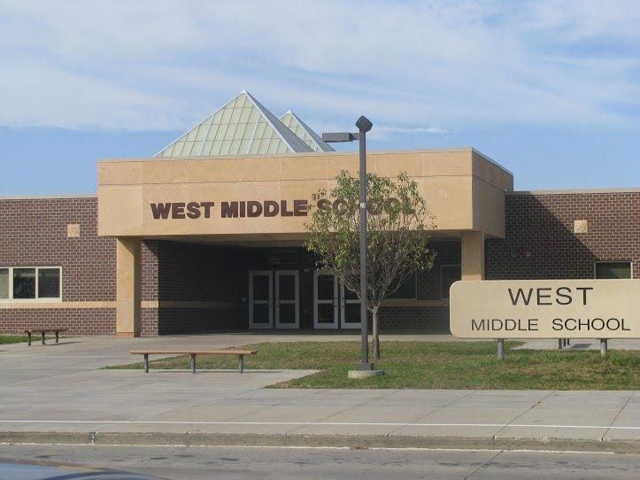 West Middle School exterior
