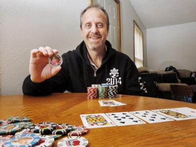 Poker player Scott Mahin