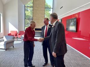 Northwestern College dedicates $3.1 million Vogel Welcome Center
