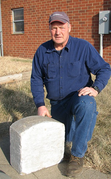Iowa Transportation employee finds tombstone