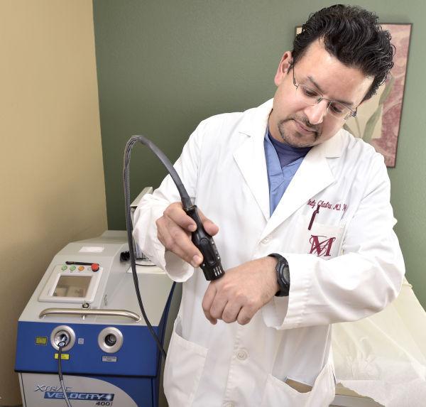 Dermatology Xtrac laser