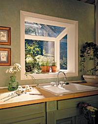 Window kit puts small garden right at hand in kitchen ...