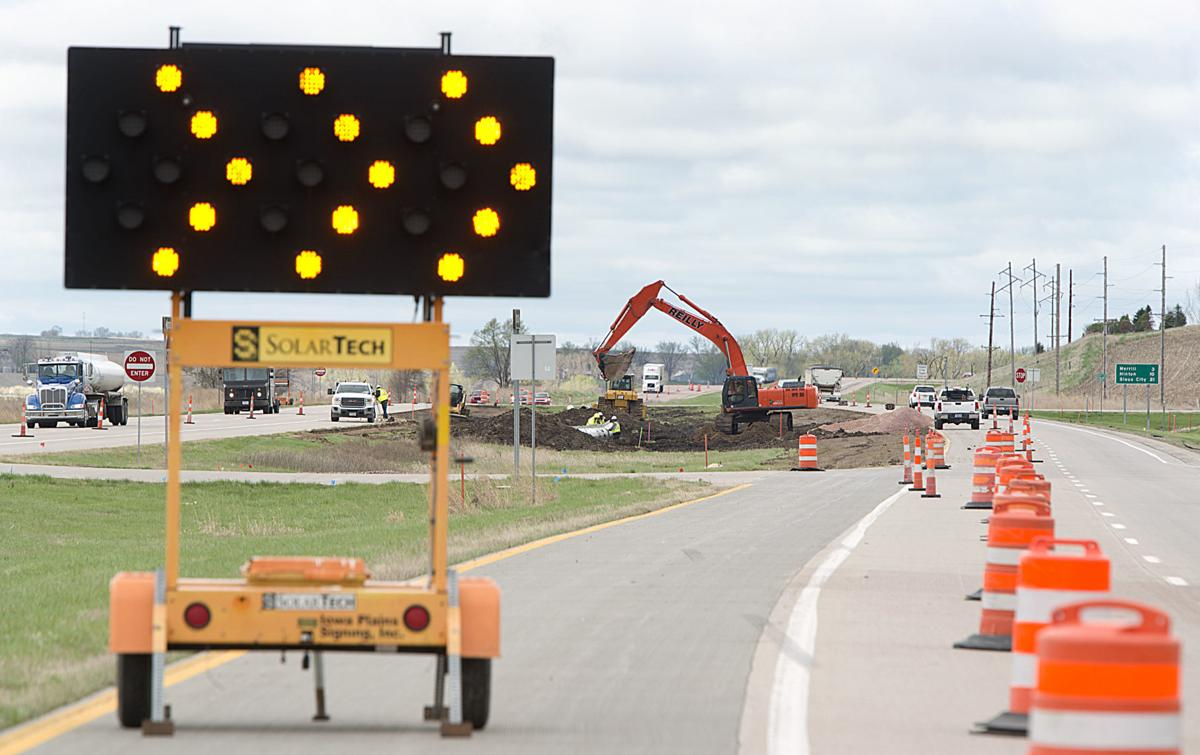 US Highway 75 construction