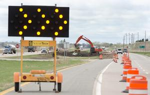 U.S. 75 work to close northbound lanes between Merrill, Le Mars