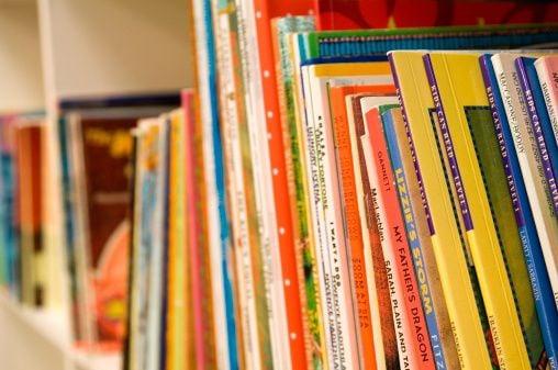 Children's books stock image