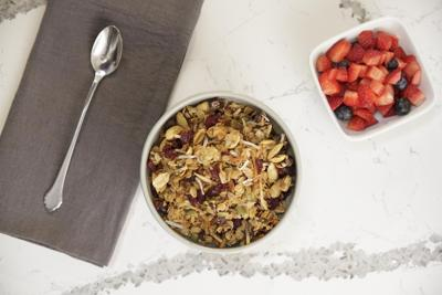 Perfectly versatile and conveniently delicious homemade granola
