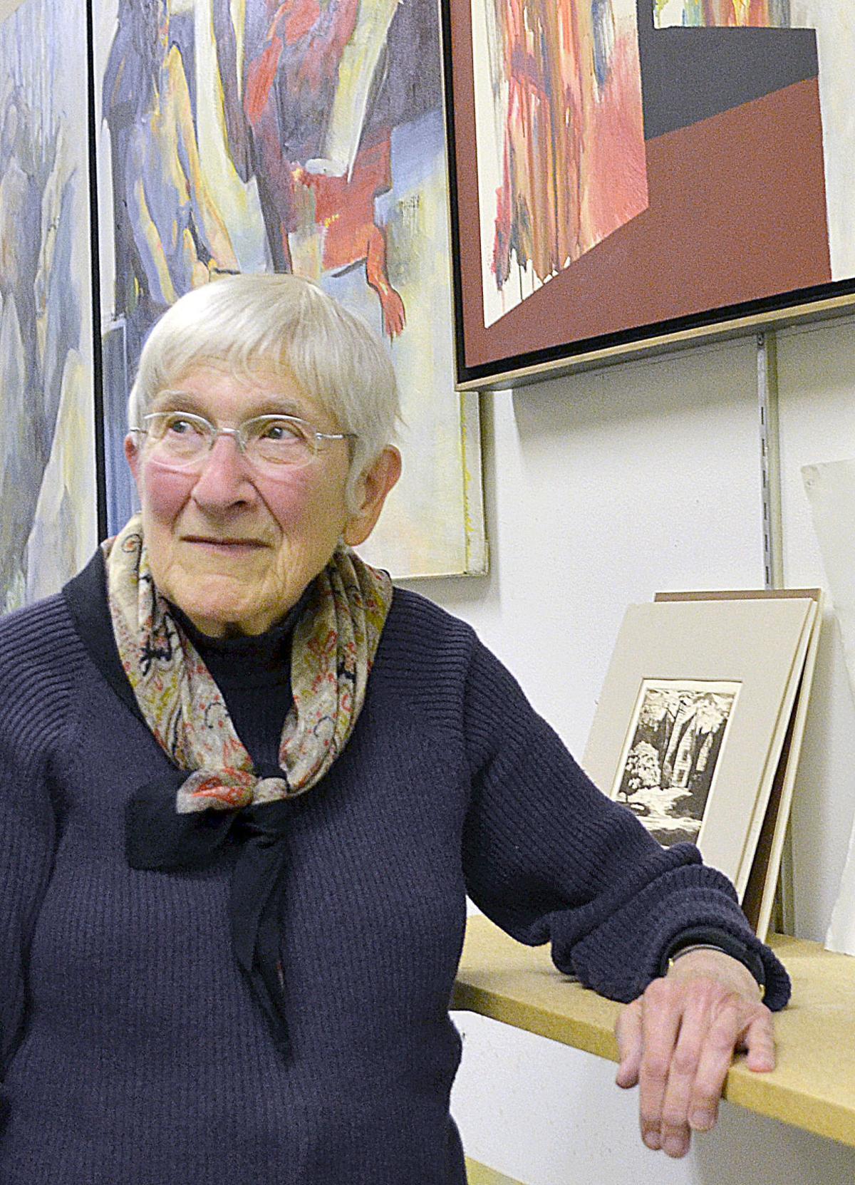 Bonnie West shares David West art