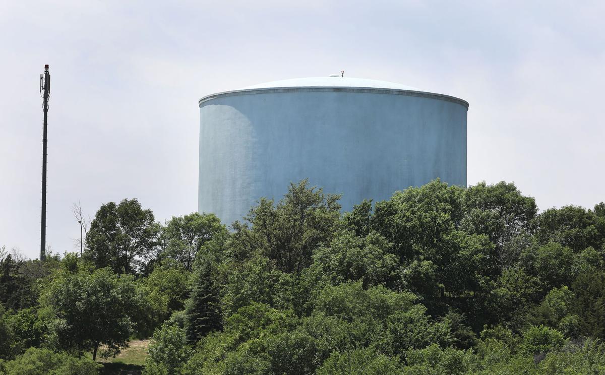 Singing Hills water tower