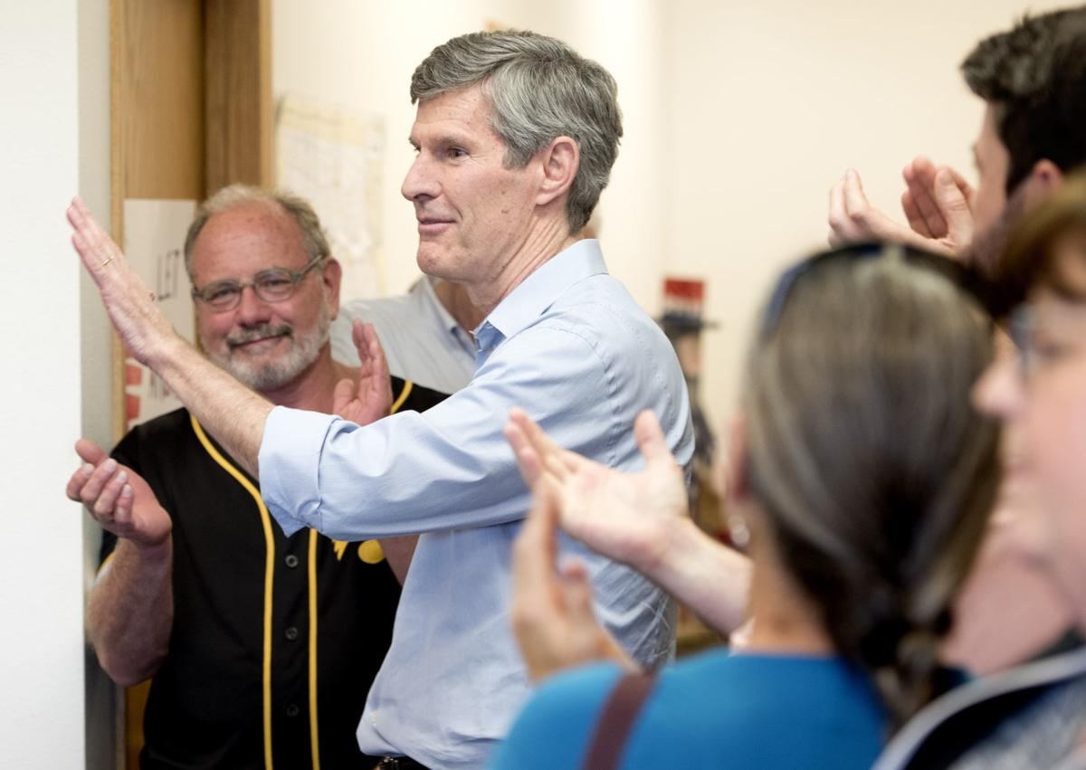 Fred Hubbell campaign stop