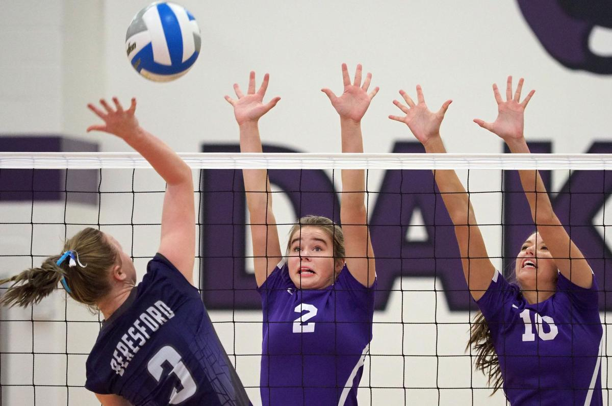 Beresford at Dakota Valley volleyball