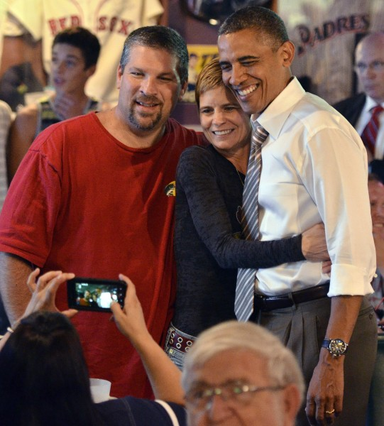 President Obama trip to Sioux City 090112