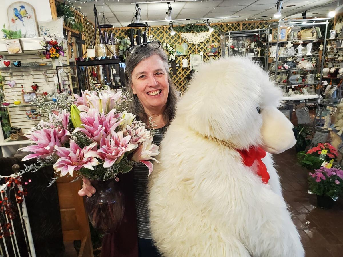 Kathy Bogenrief with bear