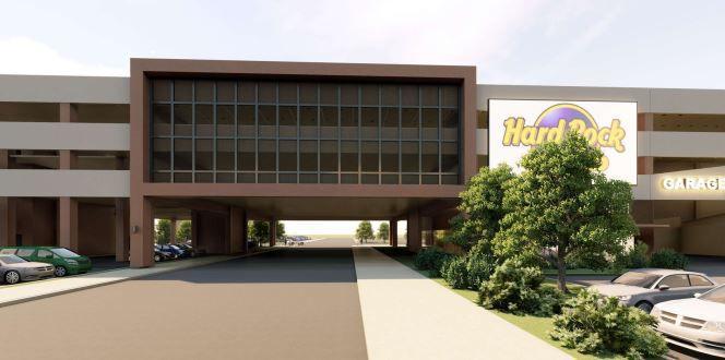 Hard Rock Parking structure