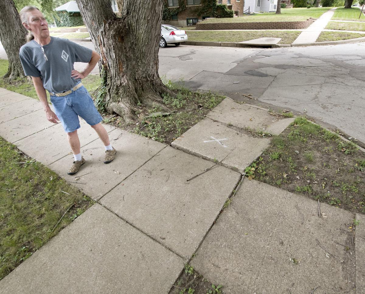 Morningside neighborhood sidewalks