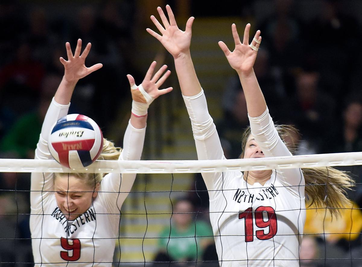 Volleyball NAIA Northwestern vs. Rocky Mountain