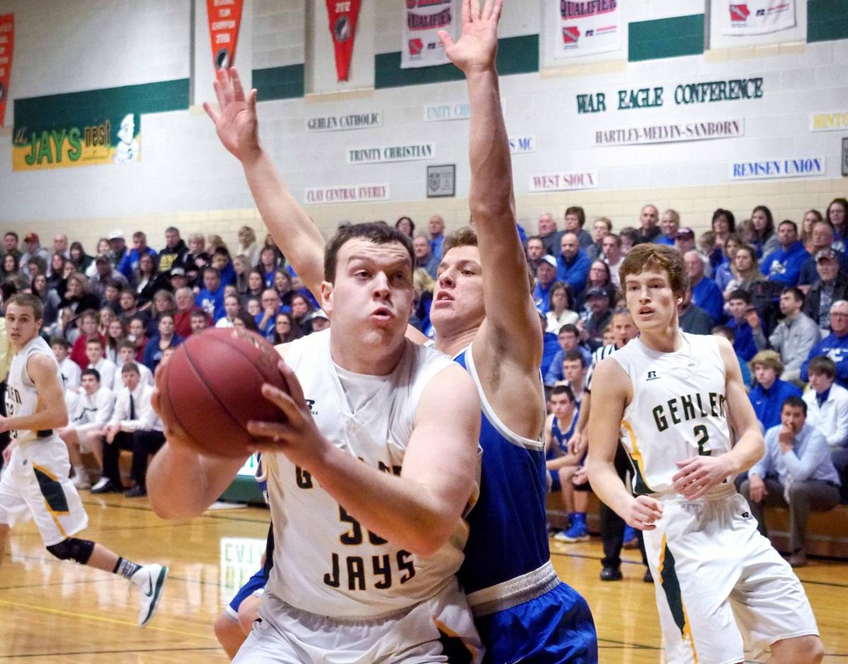Remsen St. Mary's at Gehlen basketball