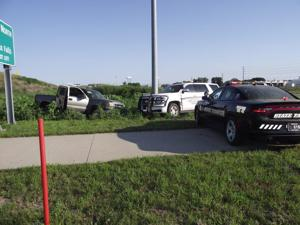 Sioux City man jailed after nearly-100-mph pursuit, ramming police vehicles