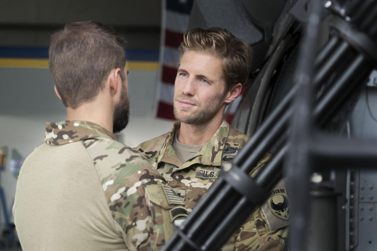 Matt Barr learns finer points of the military with  Valor ... 68d0d6d97