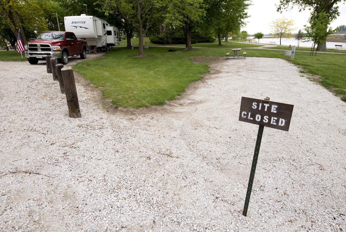 COVID-19 Woodbury County parks camping 2