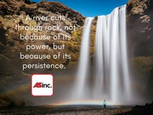 How persistent will you be?