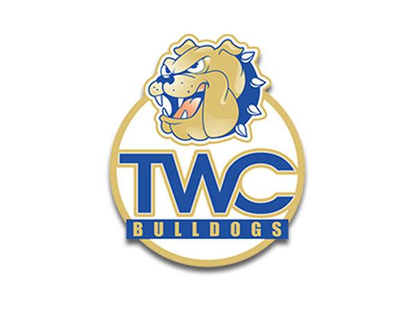 NAIA Tennessee Wesleyan College Bulldogs Logo