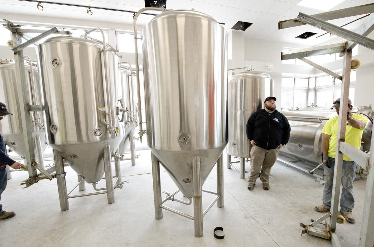 Marto Brewing Company tanks