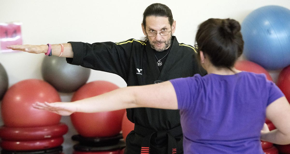 Taekwondo teacher John Potash