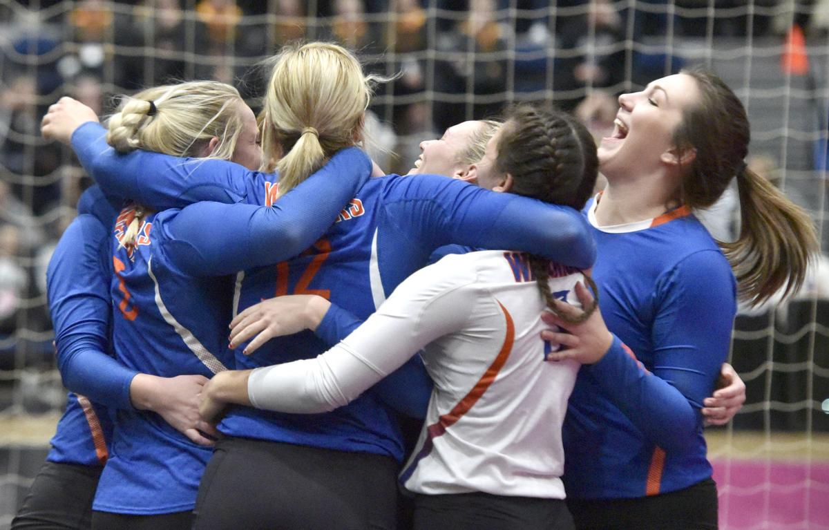 Sioux Center vs Red Oak state volleyball