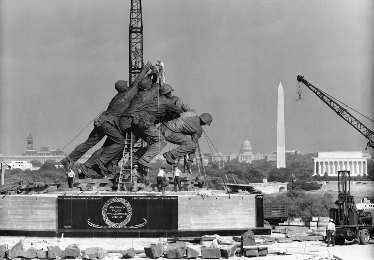 Marine Corps War Memorial 1954
