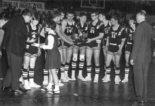 Sam Clovis 1967 basketball